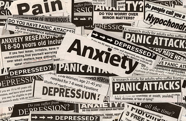 Anxiety? stock photo