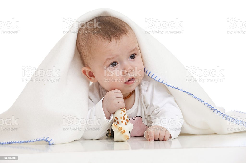 anxious baby royalty-free stock photo