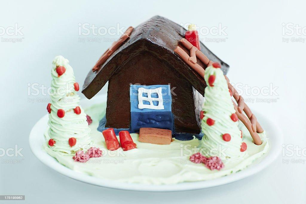 Any child's dream cake royalty-free stock photo
