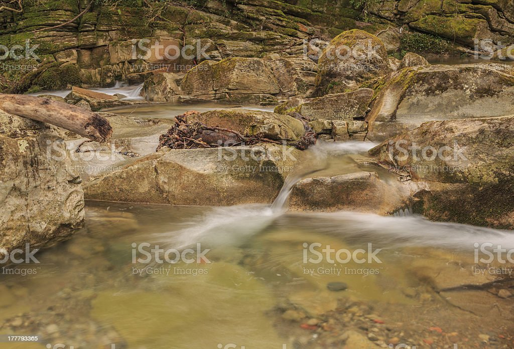 Any river royalty-free stock photo