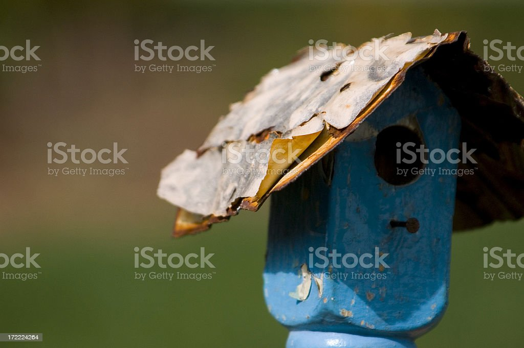 Anybody home? royalty-free stock photo