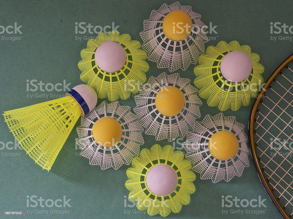 Anyone for badminton royalty-free stock photo