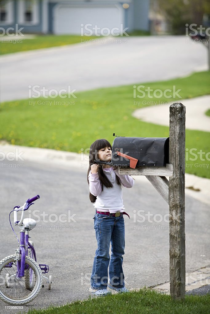 anything for me? royalty-free stock photo