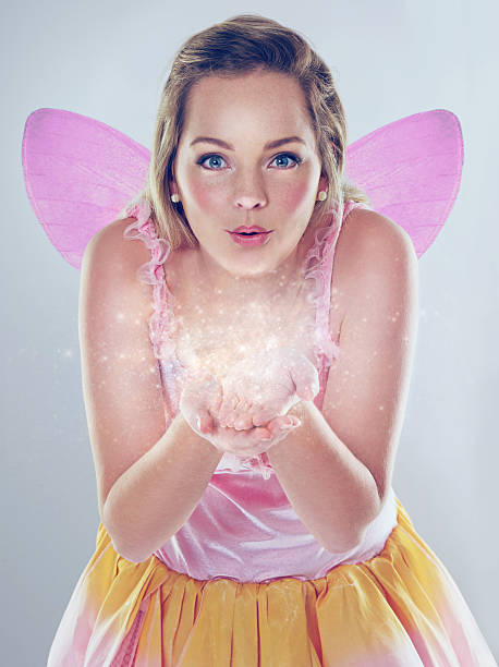 anything is possible! - fairy wand stock photos and pictures