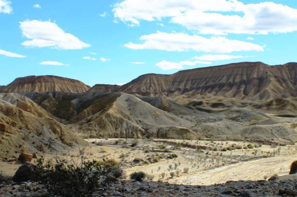 Anza-Borrego Desert Landscape 1 stock photo