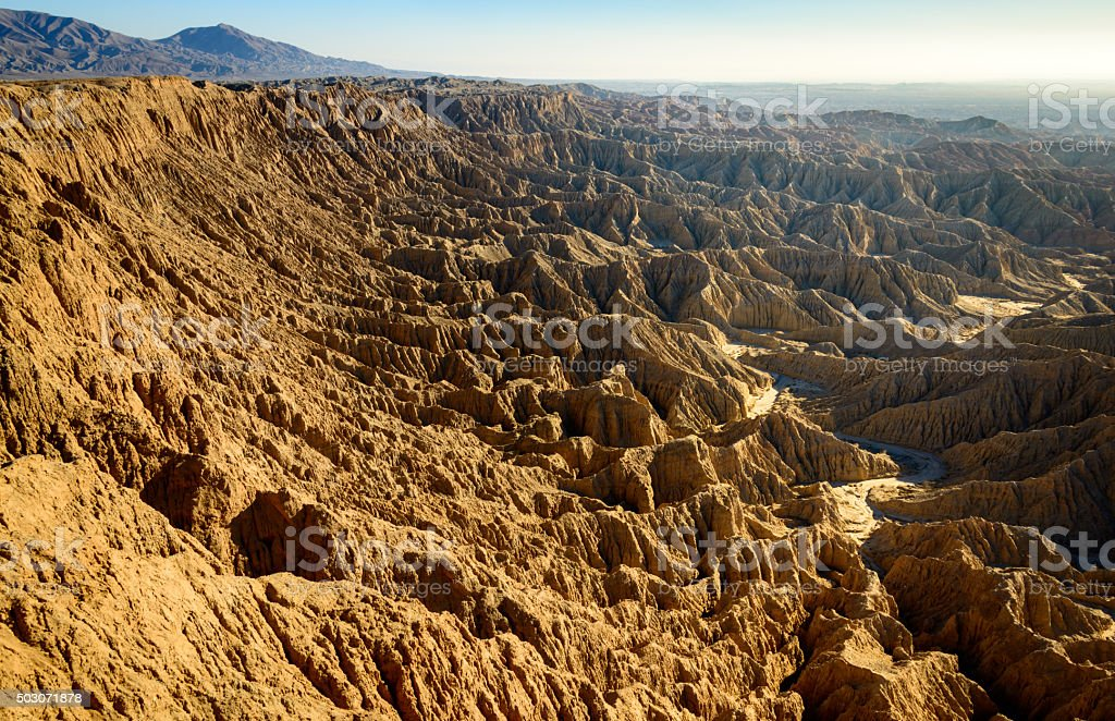 Anza-Borrego Desert State Park stock photo