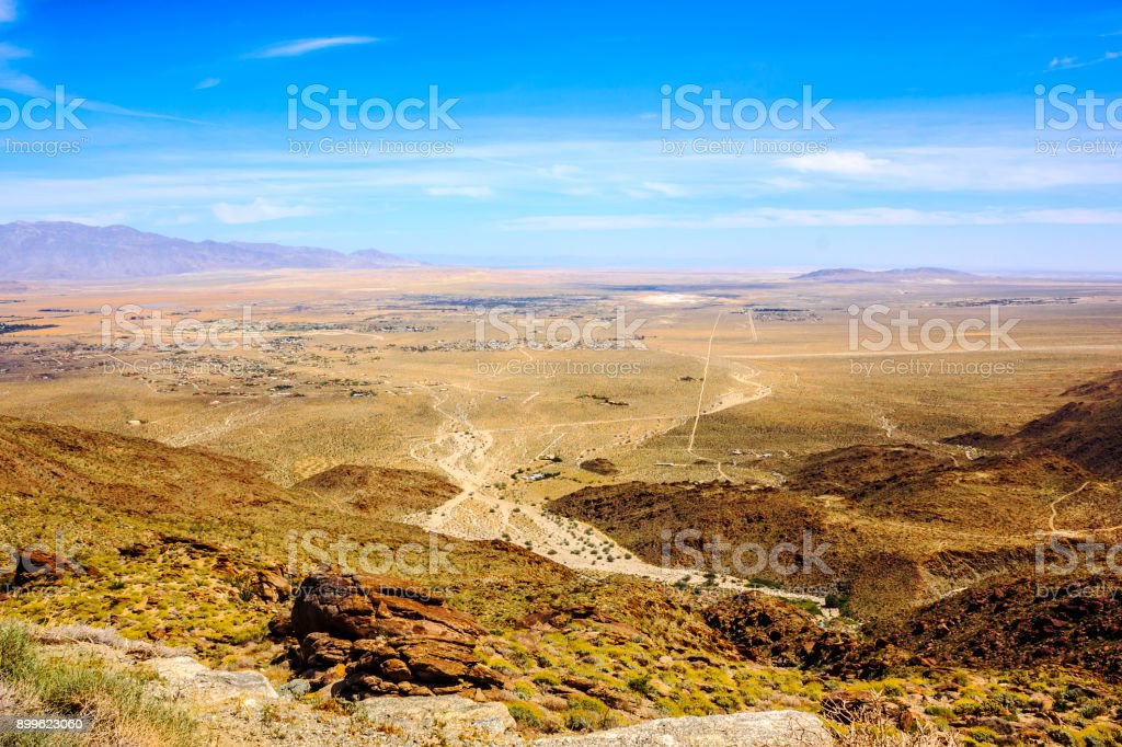 Anza-borrego desert state park. stock photo