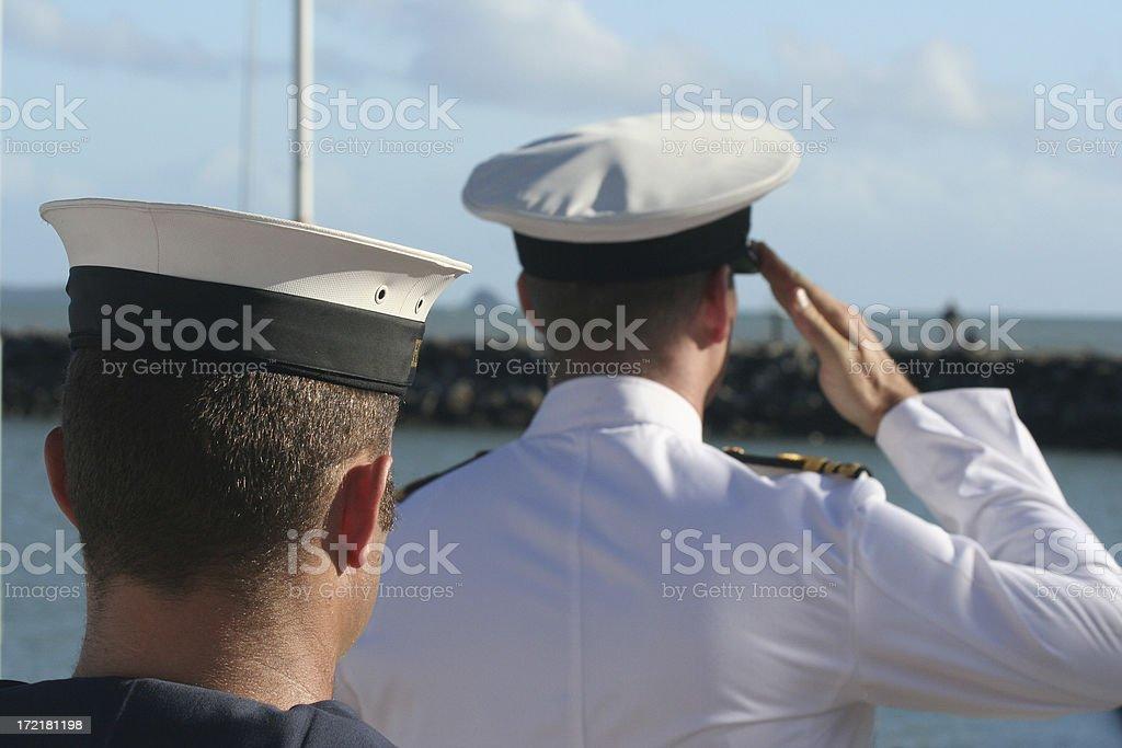 anzac day salute rememberance australia royalty-free stock photo