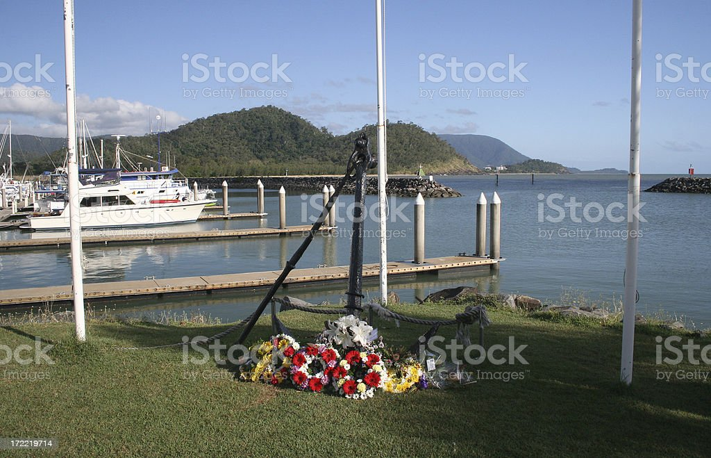 anzac day wreath - Royalty-free ANZAC Day Stock Photo