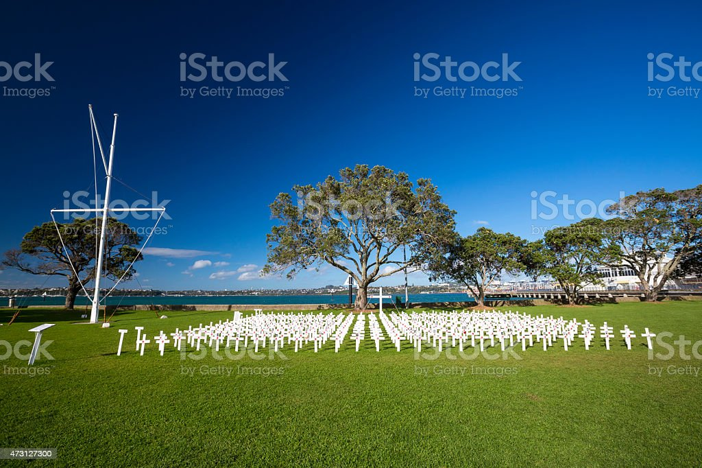 Anzac Memorials stock photo