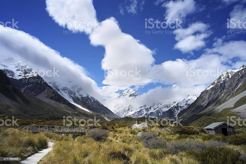Aoraki/Mt Cook stock photo