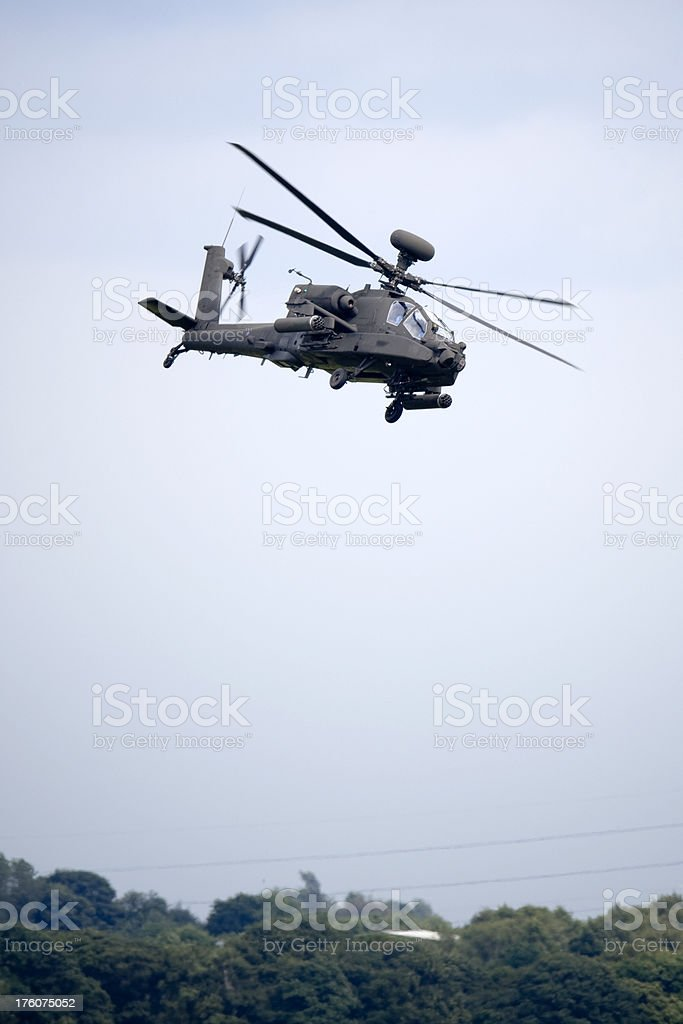 Apache AH-64 stock photo