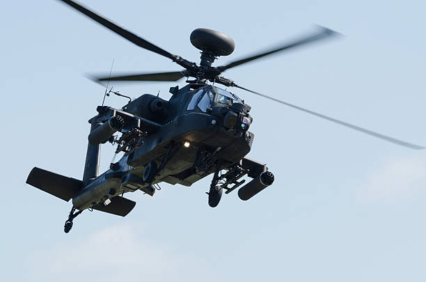 Apache attack helicopter – Foto