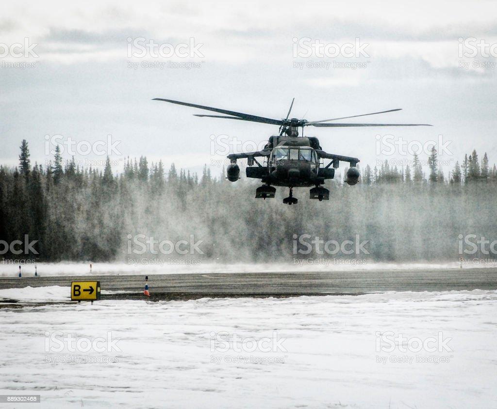 Fotografía de Apache Helicóptero Aterrizar En Alaska y más banco de ...