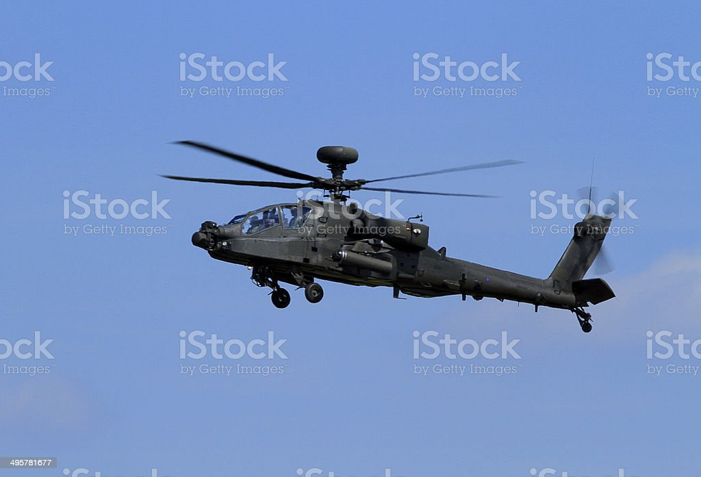 Apache Helicopter royalty-free stock photo