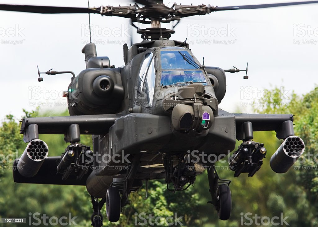 AH-64D Apache stock photo
