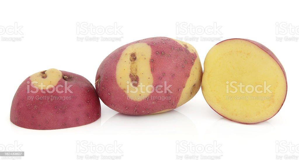Apache Potatoes royalty-free stock photo