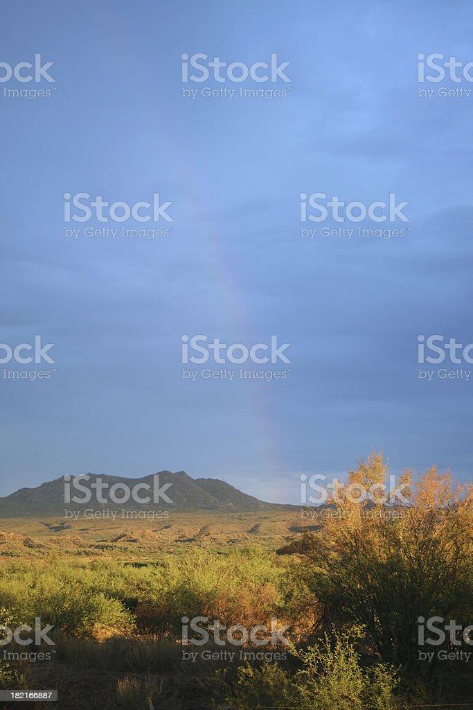 Apache Rainbow stock photo