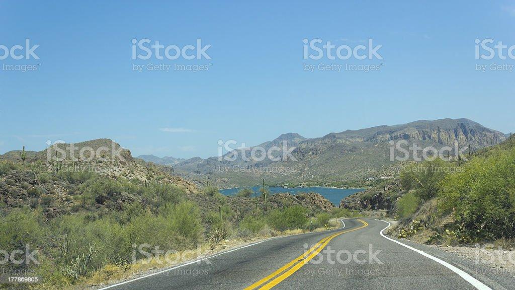 Apache Trail of Modern Age stock photo