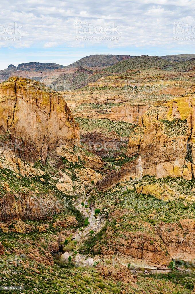 Apache Trail stock photo