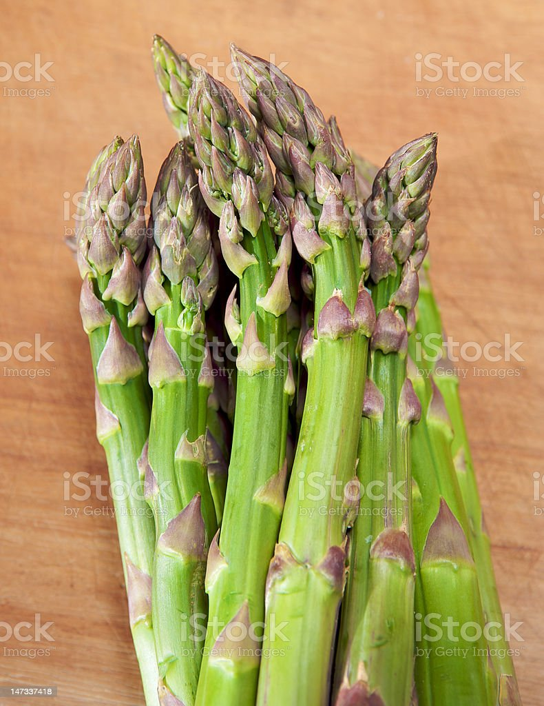 Aparagus spears royalty-free stock photo