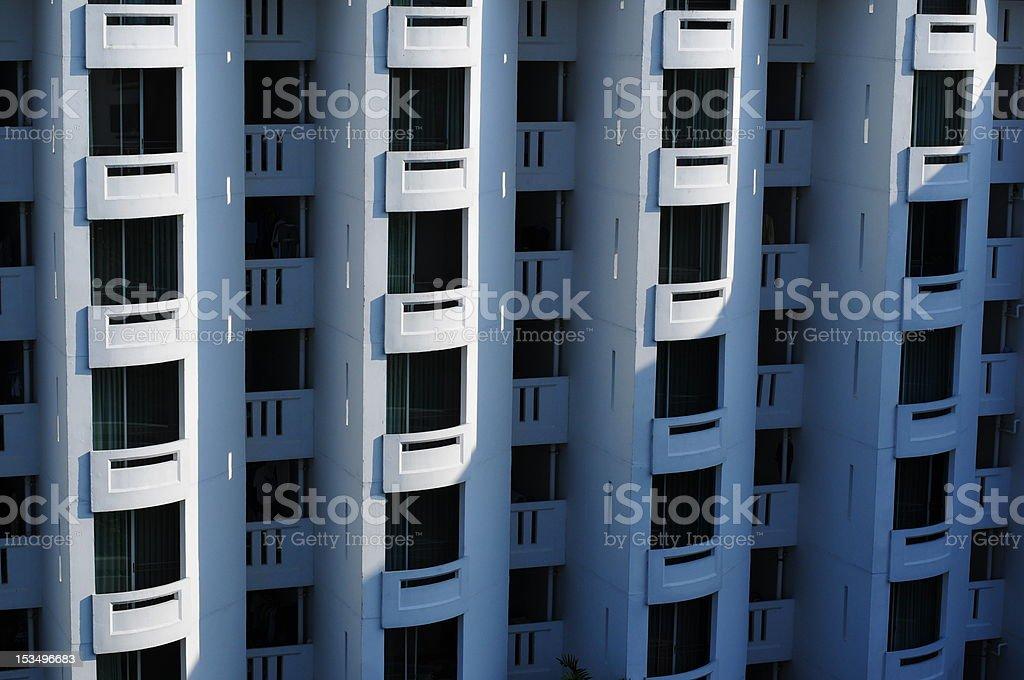 Apartamento varandas - foto de acervo