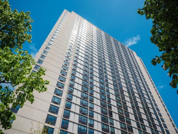 Apartmentblock in Lower Manhattan – Foto