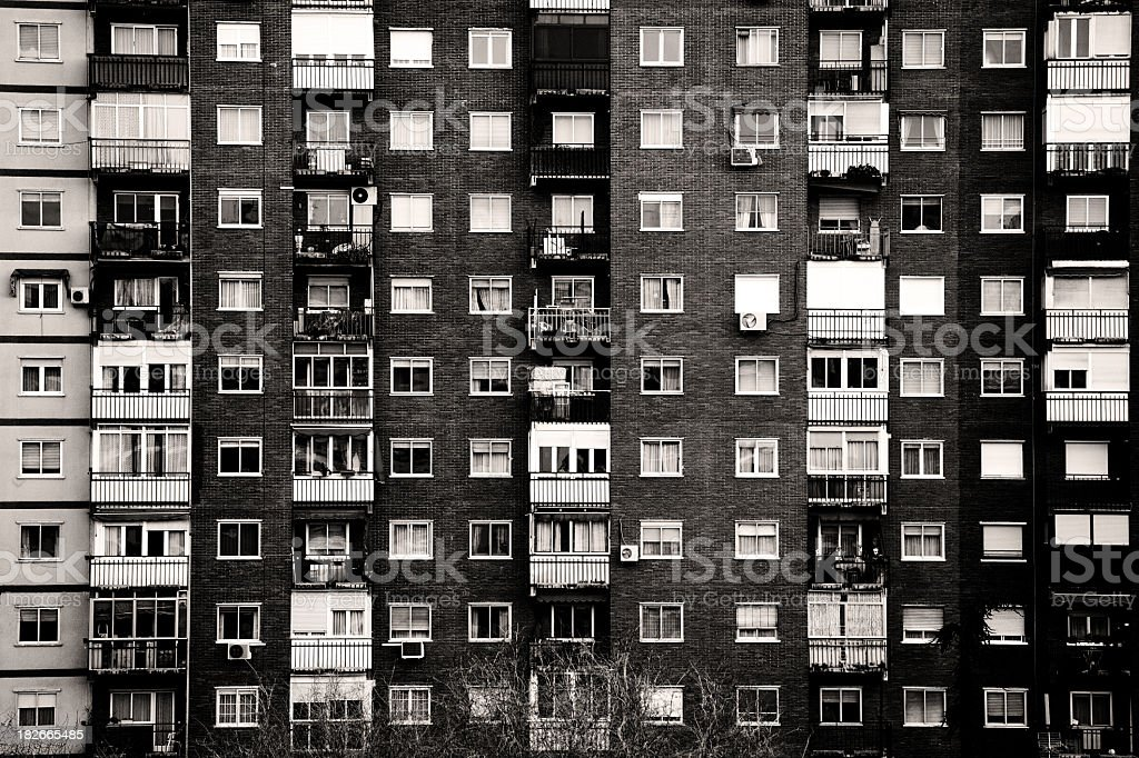 Apartment Block – Foto