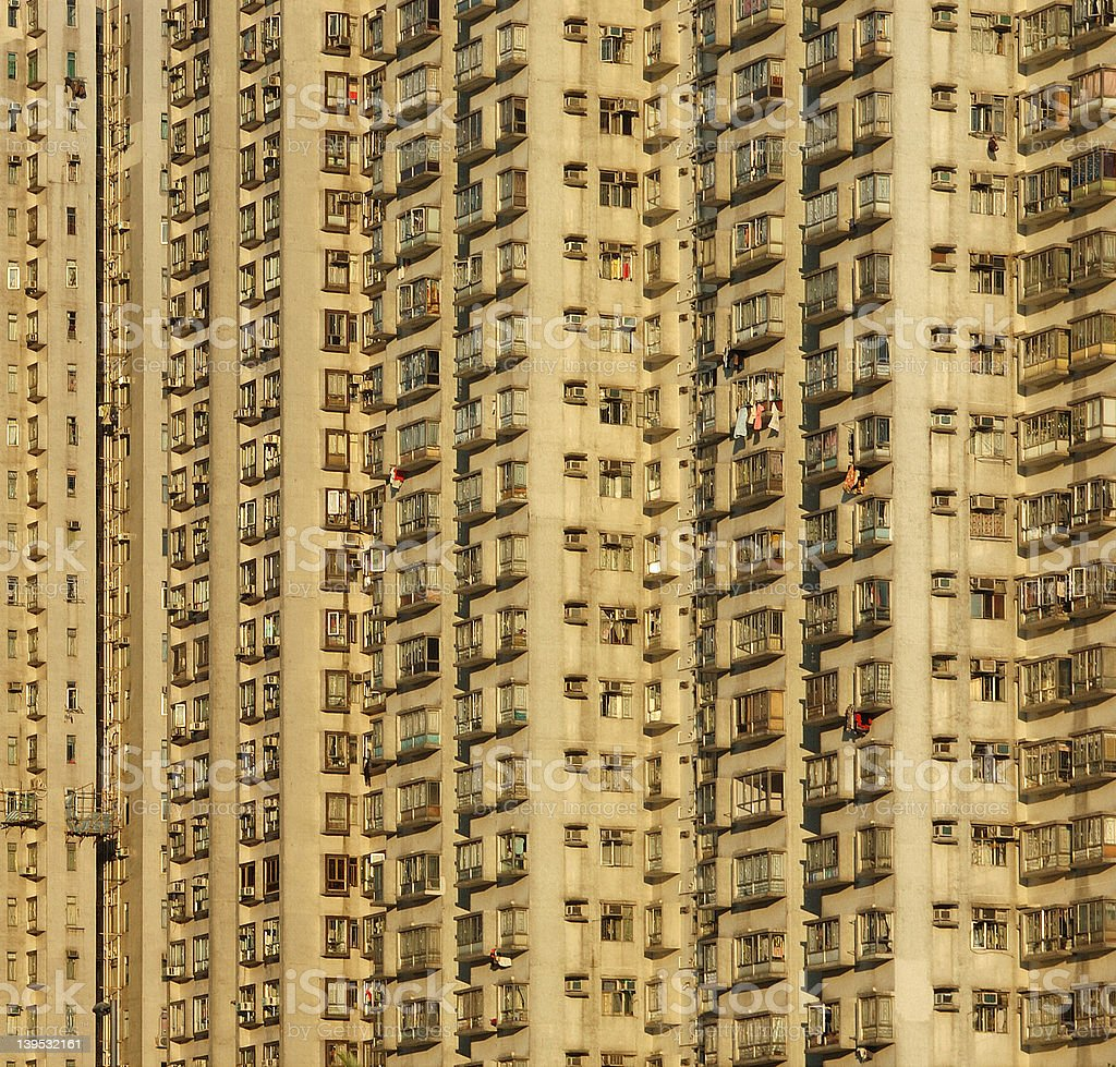 apartment blocks royalty-free stock photo