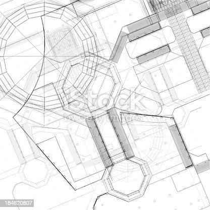 istock Apartment Blueprint 184620807