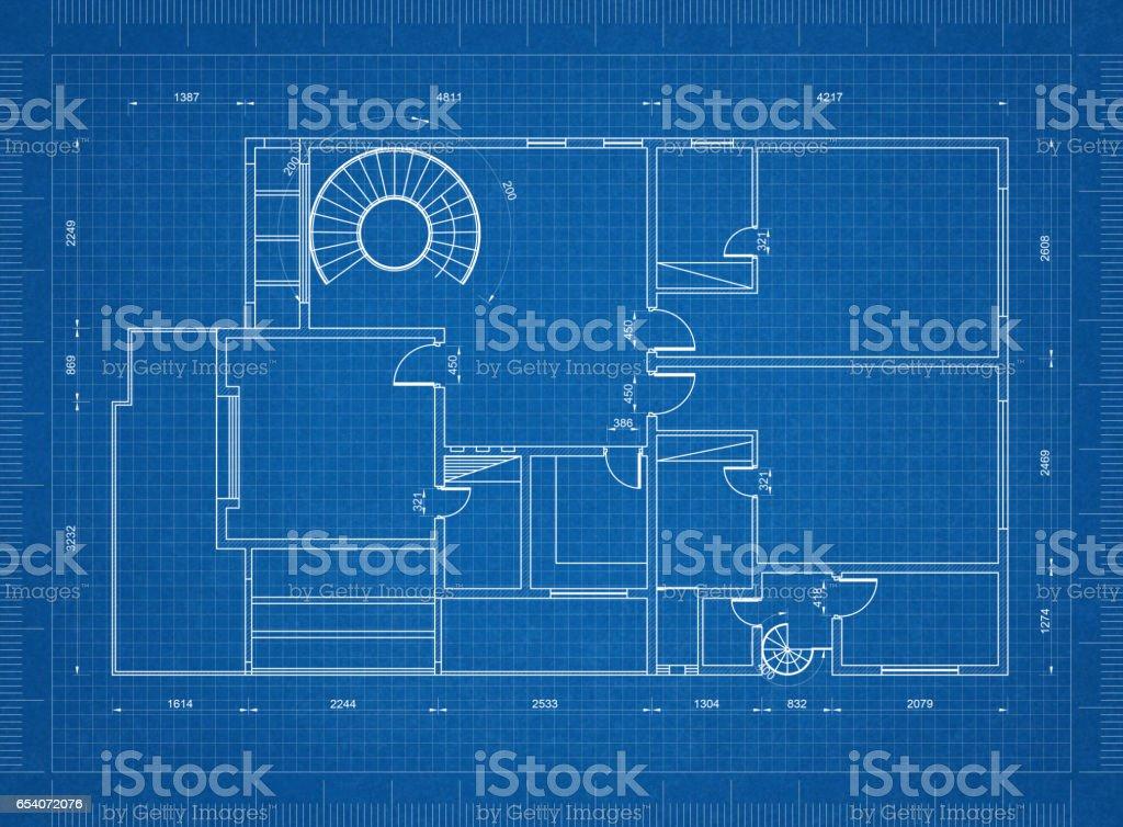 Apartment blueprint – Foto