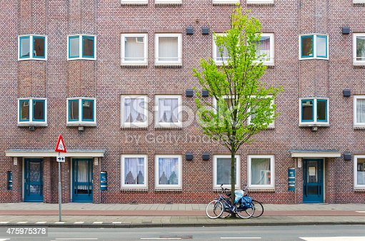 Apartment Building in Amsterdam, Netherlands