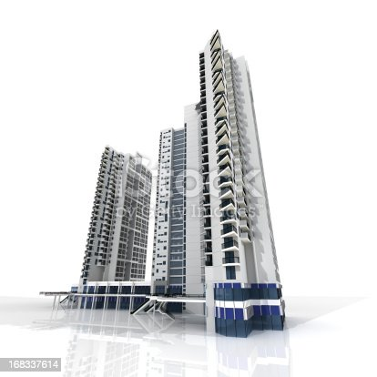 184405668 istock photo Apartment Building 168337614