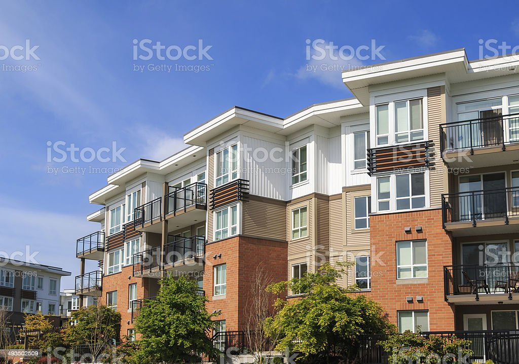 Apartment Building - foto de stock