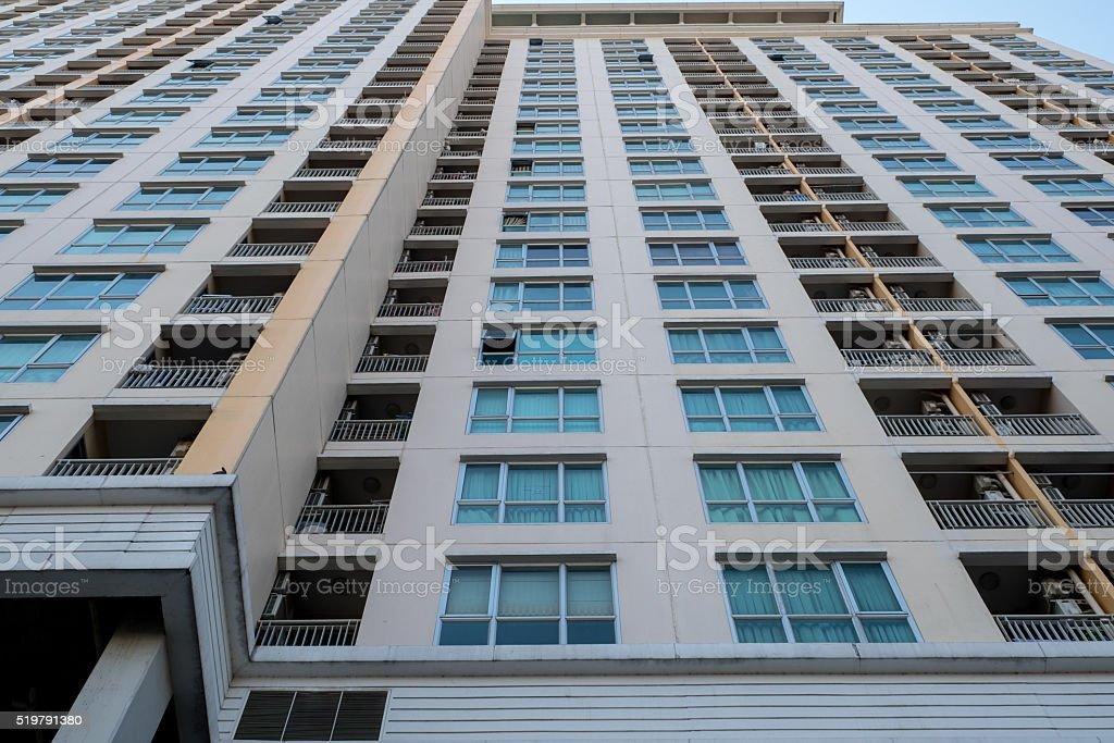 De apartamento Building - foto de acervo