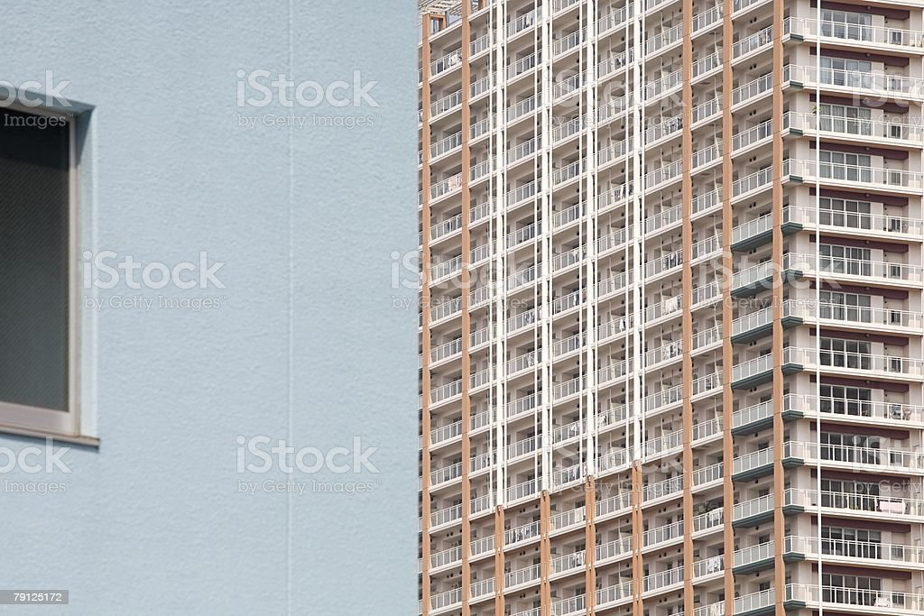 Apartment building 免版稅 stock photo