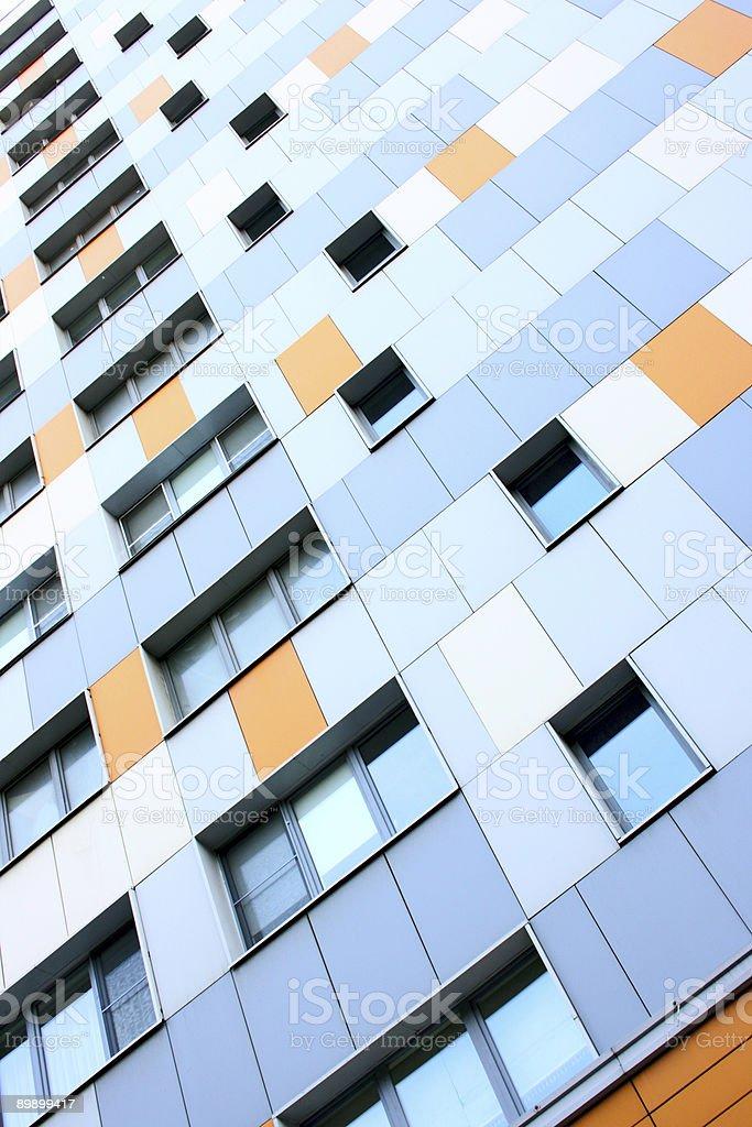 Apartment building foto de stock libre de derechos