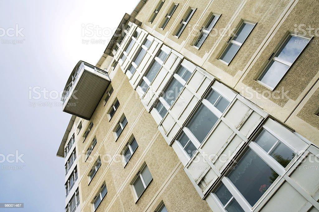 Apartment building royalty free stockfoto