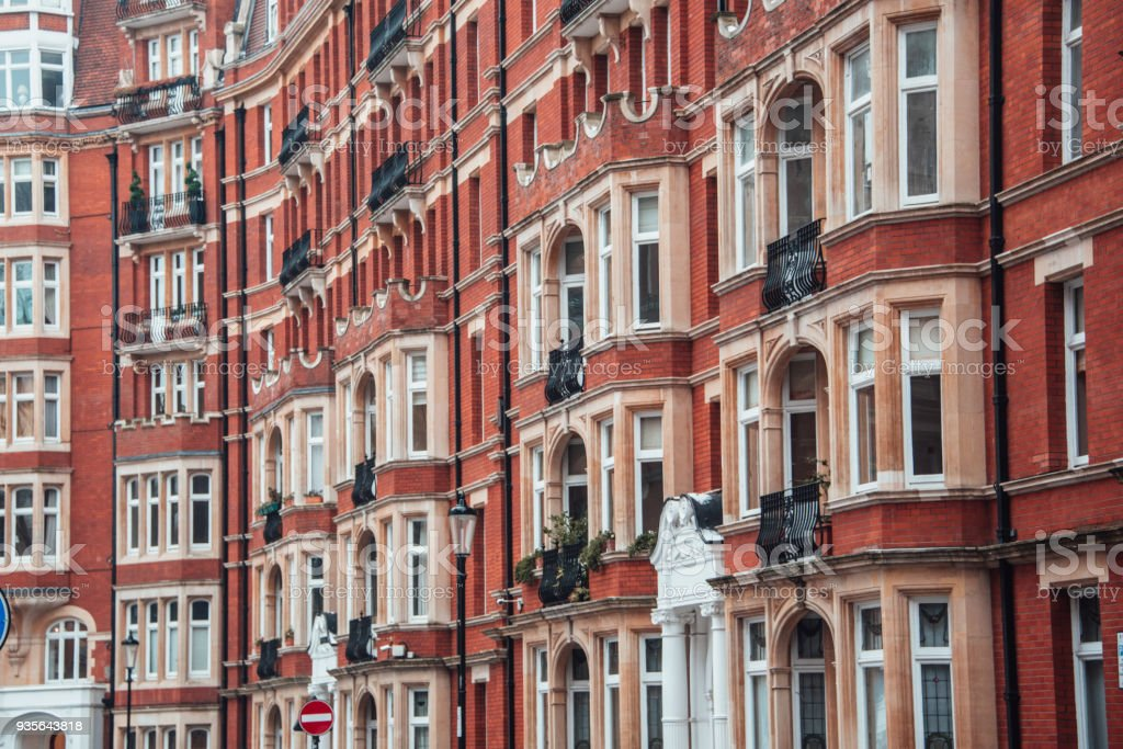 Apartment Buildings In London Stock Photo & More Pictures of ...