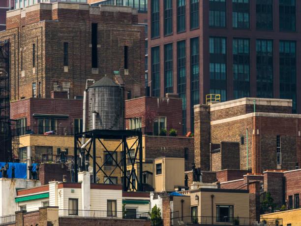 Apartment Buildings In Manhattan stock photo