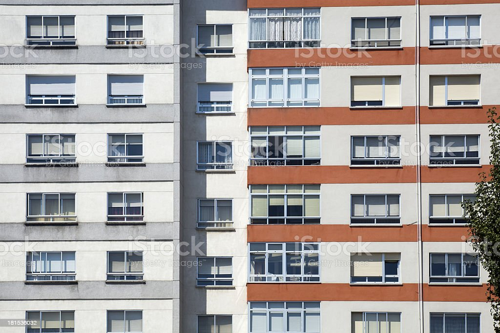 Apartment buildings. royalty-free stock photo