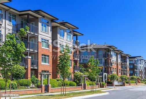 istock Apartment Buildings 645199404