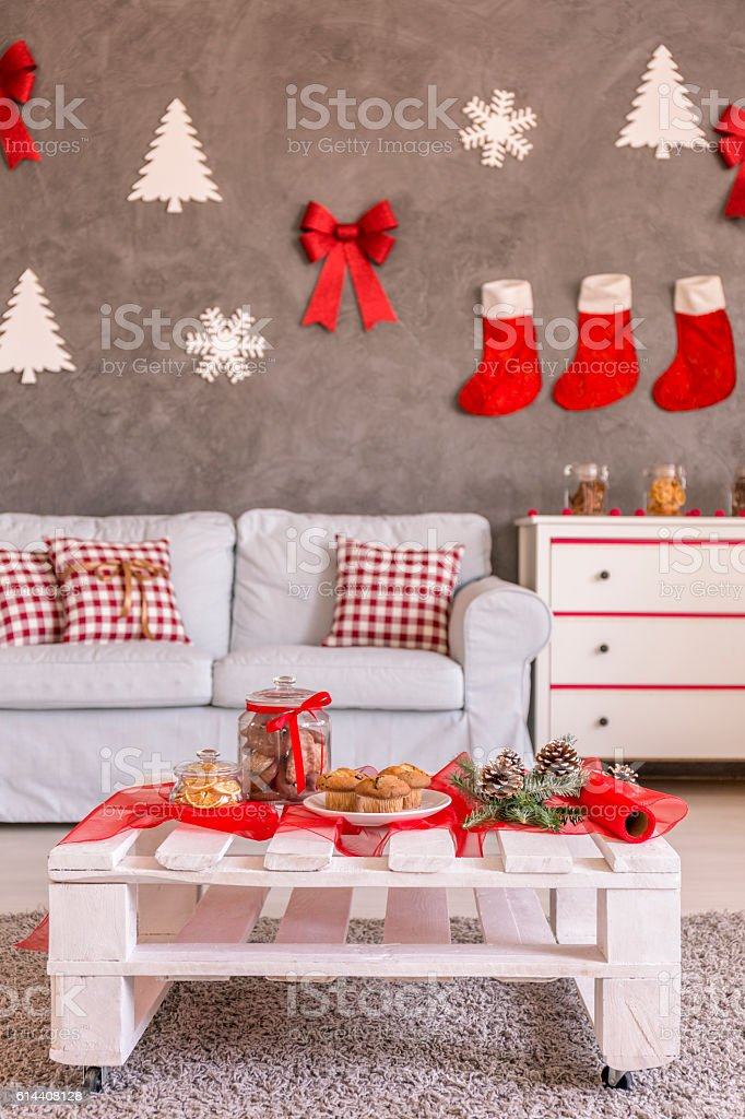 Apartment Christmas Decorations Stock Photo Download Image Now Istock