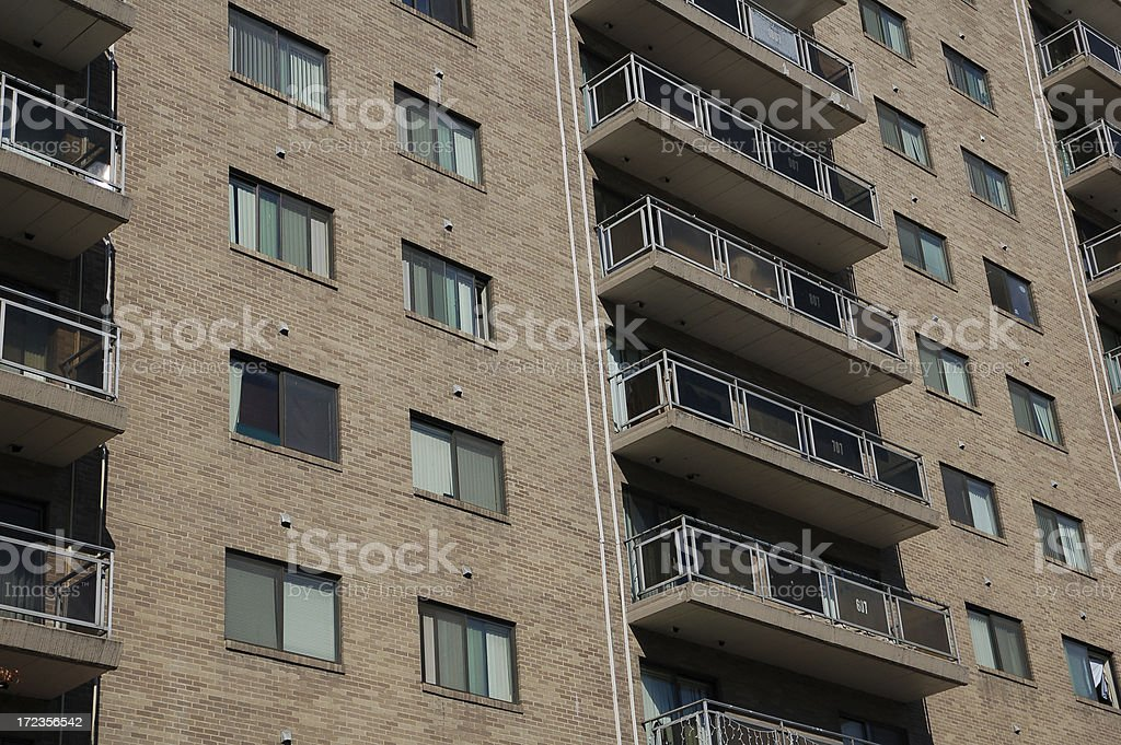 Apartment Complex #3 royalty-free stock photo