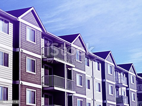 493502515 istock photo Apartment Complex 469356192