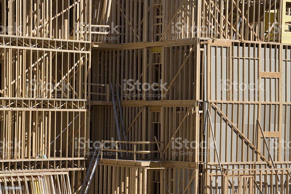 Apartment Construction royalty-free stock photo