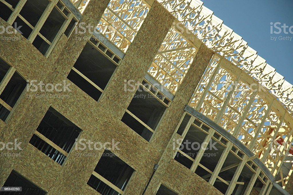 Apartment Construction royalty-free stock photo