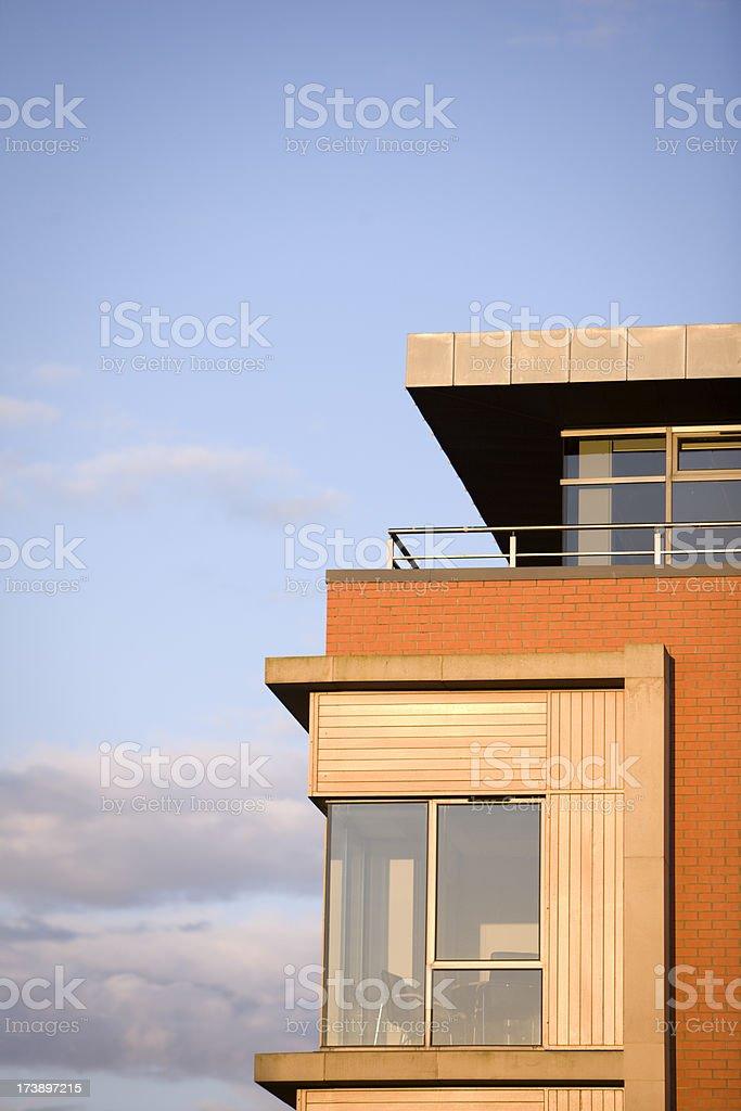 Apartment exterior detail royalty-free stock photo