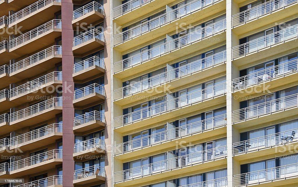 Apartment house royalty-free stock photo