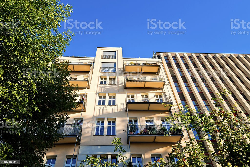 Apartment in Berlin, Germany royalty-free stock photo